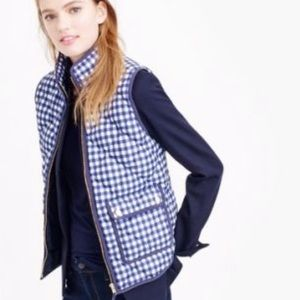 J. Crew Jackets & Coats - J. Crew {retail} Gingham Excursion Vest